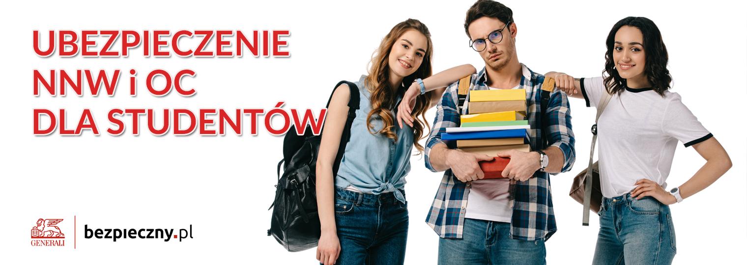 Kod Pośrednika Bezpieczny.pl - Ubezpieczenie NNW OC Studenta