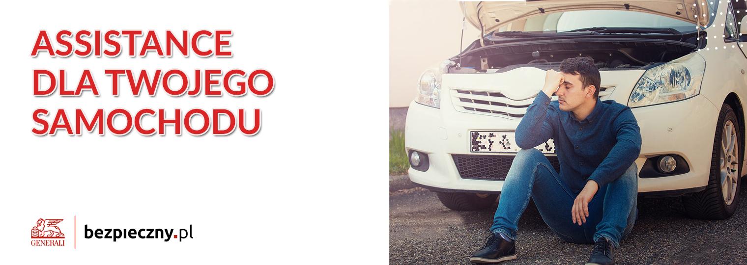 Kod Pośrednika Bezpieczny.pl - Ubezpieczenie assistance dla samochodu