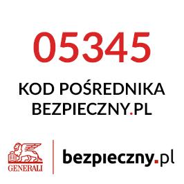 Kod Pośrednika Bezpieczny.pl 05345